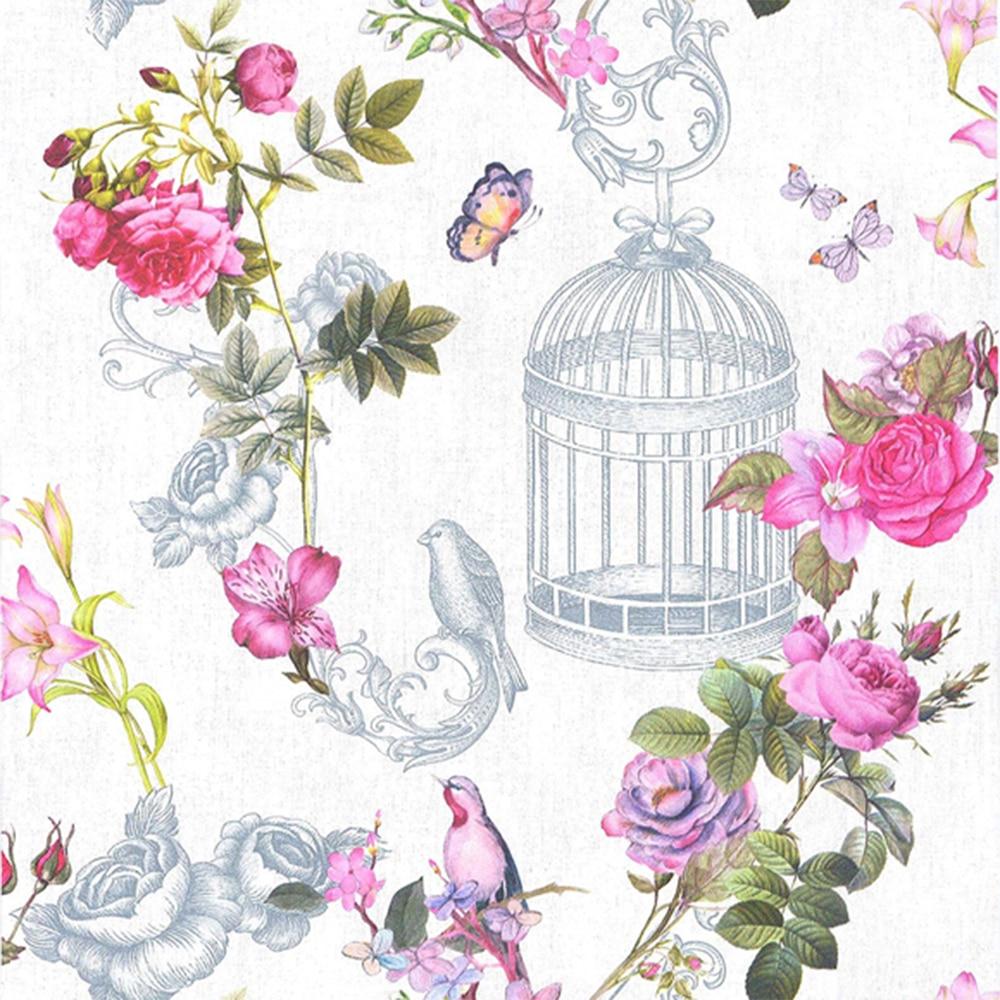Papel pintado jaulas ref 17518221 leroy merlin - Catalogos de papel pintado para paredes ...