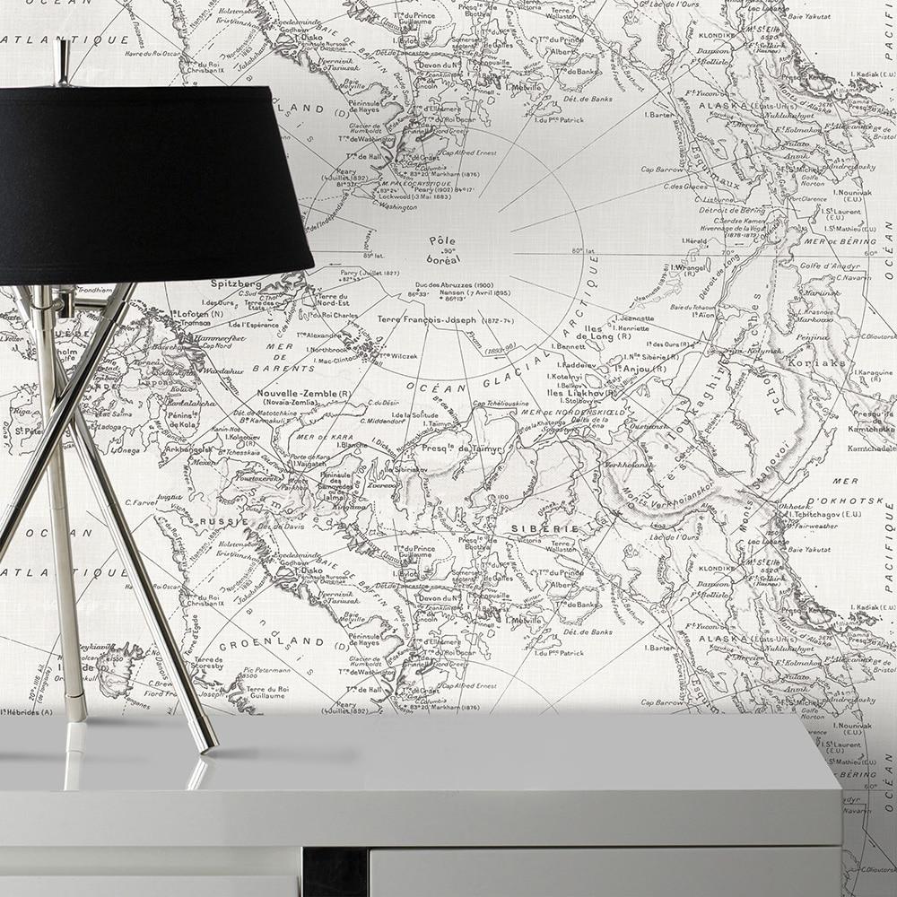 Papel pintado mapa scout ref 17453674 leroy merlin - Cuadros para dormitorios leroy merlin ...