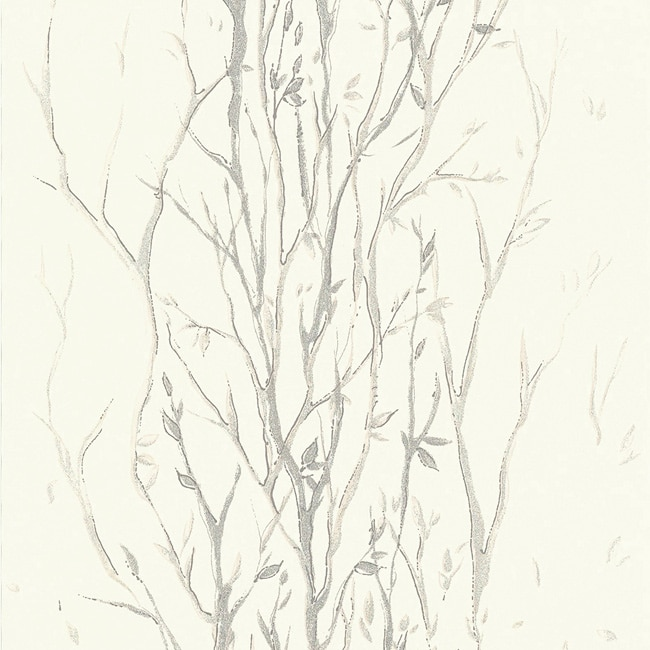 Papel pintado ramas ref 16759491 leroy merlin for Papel barato pared