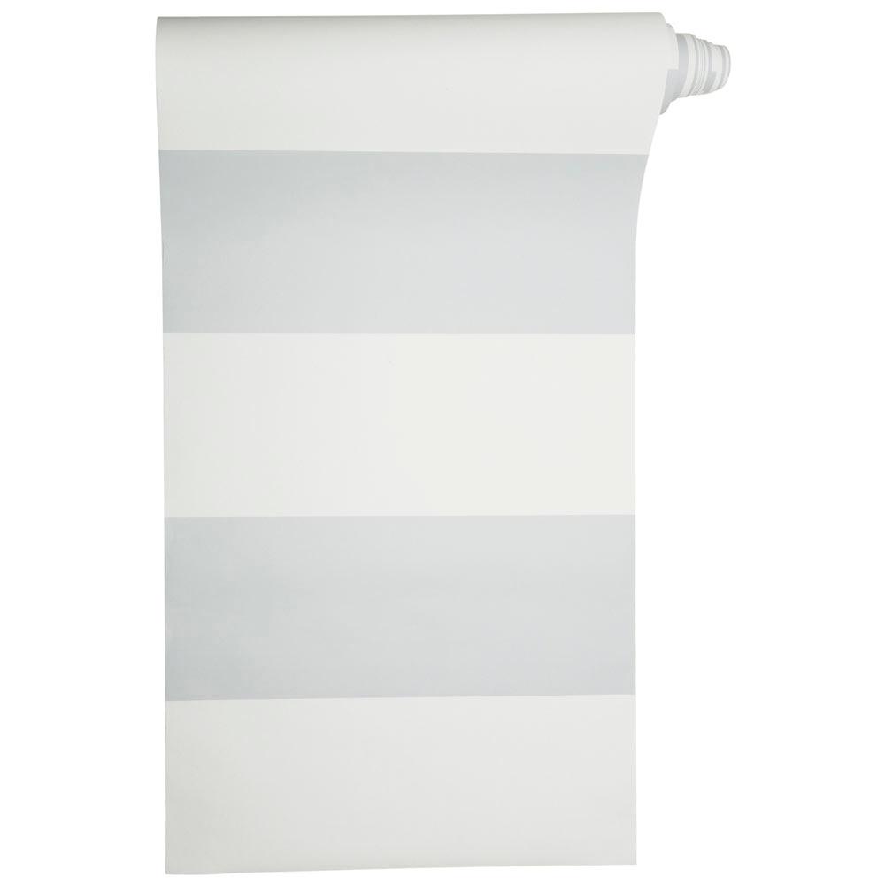 Papel pintado rayas horizontales ref 18366082 leroy merlin - Papel pintado de rayas verticales ...