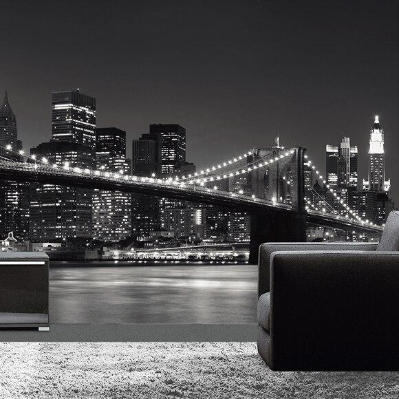 mural de pared skyline ref 16837303 leroy merlin. Black Bedroom Furniture Sets. Home Design Ideas