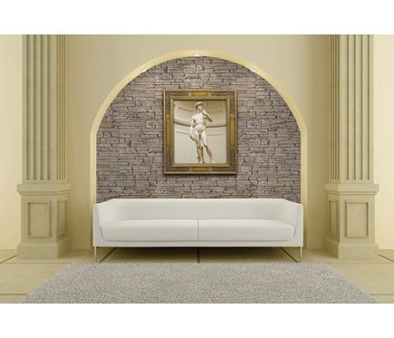 Panel de poliuretano con acabado piedra panespol soria - Panel decorativo poliuretano ...