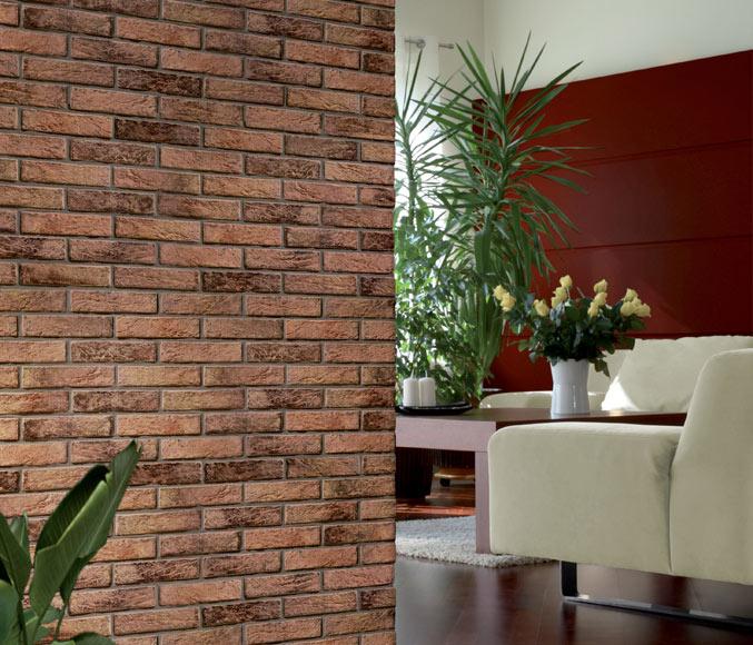 Plaqueta interbrick marron rustico ref 15163225 leroy - Plaqueta decorativa ...