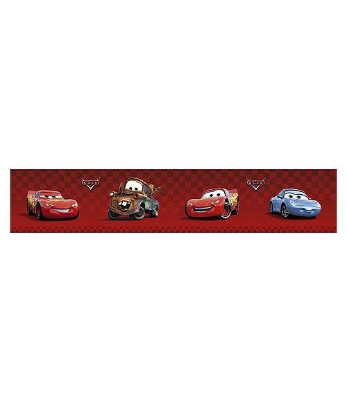 Cenefa infantil de vinilo cars rojo ref 13519695 leroy - Cenefas adhesivas leroy merlin ...
