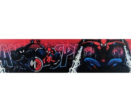 Cenefa infantil de papel spiderman ref 13689914 leroy - Cenefas leroy merlin ...