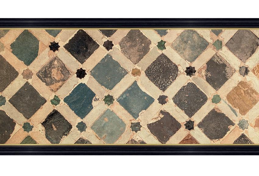 Cenefa cl sica de papel ceramica mosaico ref 16759246 for Cenefas ceramica