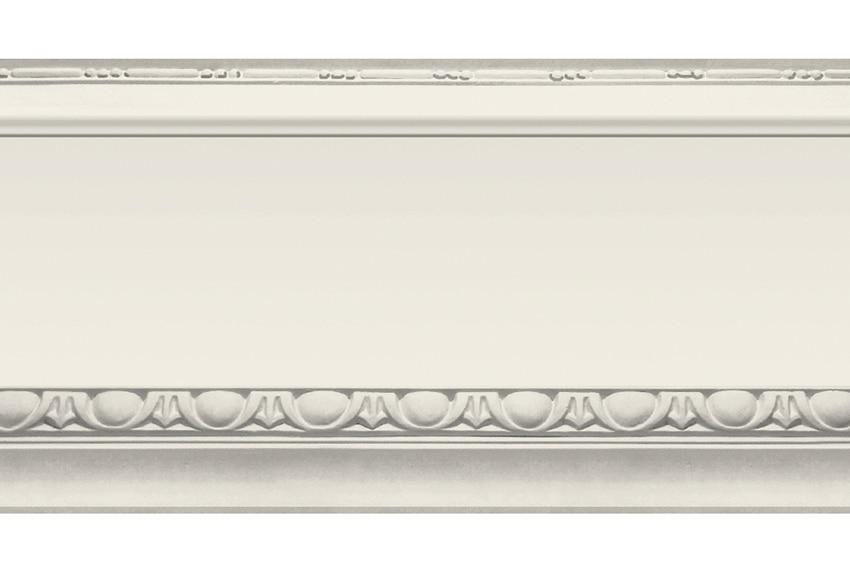 Cenefa cl sica de papel moldura marfil ref 16759365 - Como colocar molduras de escayola ...