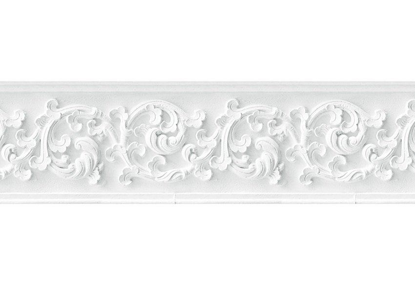 Cenefa de papel escayola blanca ref 17422342 leroy merlin for Portarrollos papel higienico leroy merlin