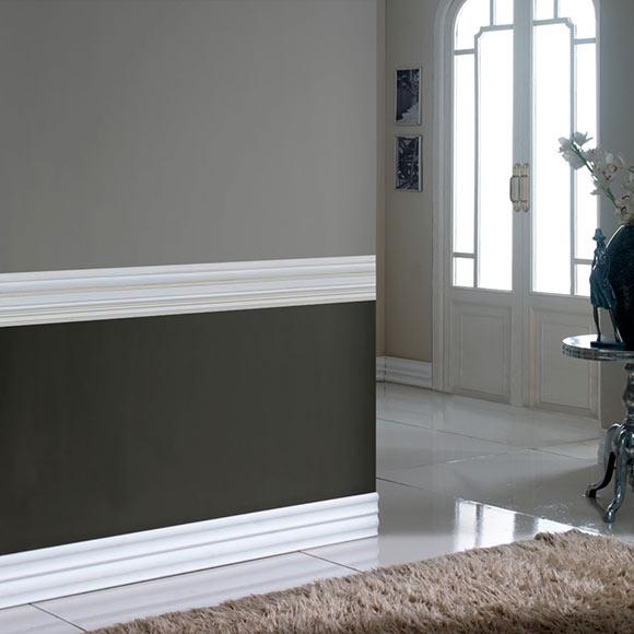 Cenefa de vinilo moldura gris ref 19119044 leroy merlin - Molduras decorativas leroy merlin ...