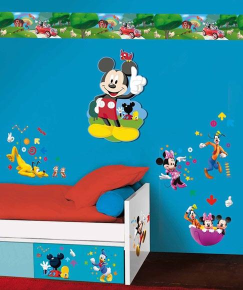 Vinilo infantil mickey club house ref 14742966 leroy merlin for Club leroy merlin