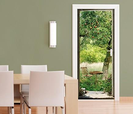 Vinilo para puerta almuerzo ref 16776900 leroy merlin - Decoracion puertas interior ...
