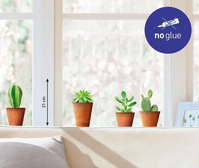 Vinilo para ventana cactus iii ref 16854901 leroy merlin for Suelos de vinilo leroy merlin
