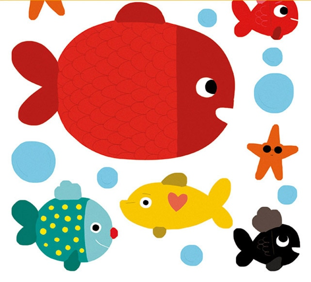 Fotos de peces infantiles imagui - Imagenes de vinilos infantiles ...