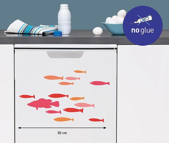 Vinilo para electrodom stico peces ref 16857442 leroy - Vinilos para encimeras leroy merlin ...