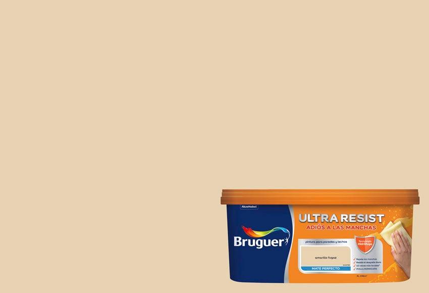 Pintura de color para paredes y techos bruguer amarillo - Pintura para tela leroy merlin ...