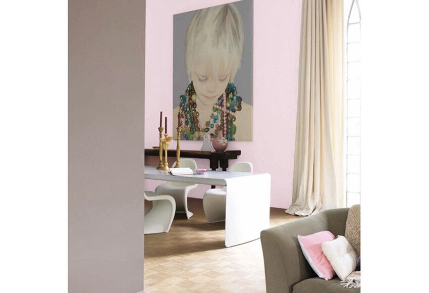 Pintura de color para paredes y techos bruguer architecte for Pintura color lino