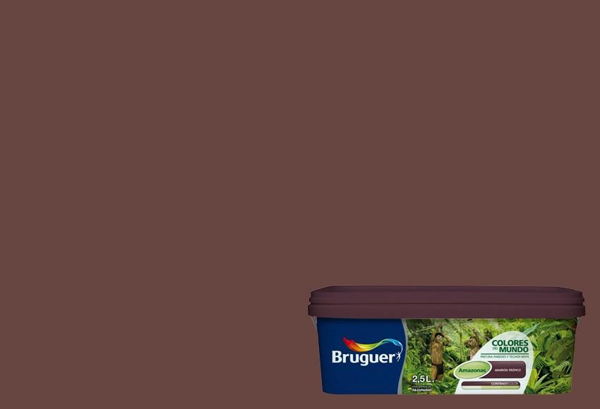Colores del mundo amazonas marron tropico bruguer colores - Bruguer colores del mundo leroy merlin ...