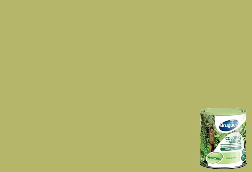 Pintura de color para paredes y techos bruguer colores del for Techos y paredes verdes