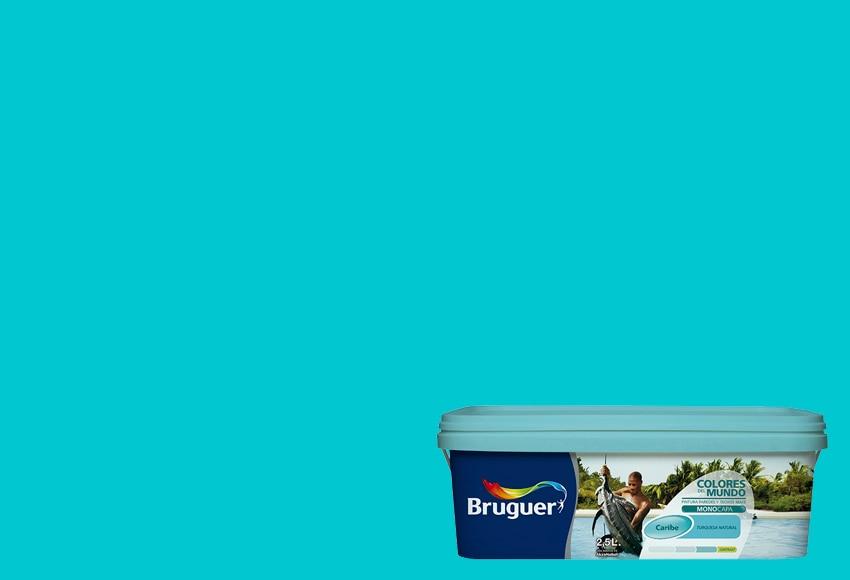 Colores del mundo caribe turquesa natural bruguer colores - Colores del mundo de bruguer ...