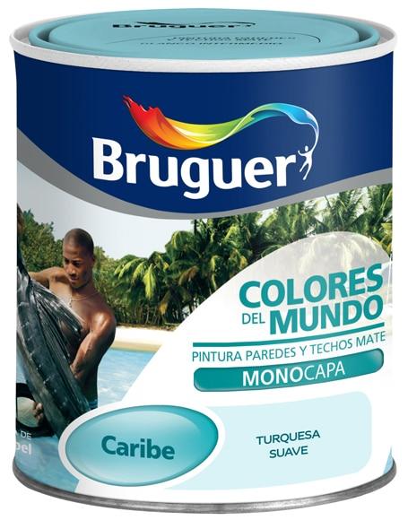 Pintura de color para paredes y techos bruguer colores del - Bruguer colores del mundo ...