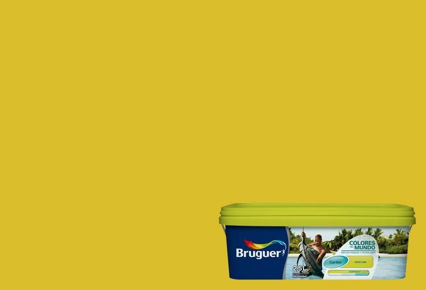 Colores del mundo caribe verde lima bruguer colores del - Bruguer colores del mundo leroy merlin ...