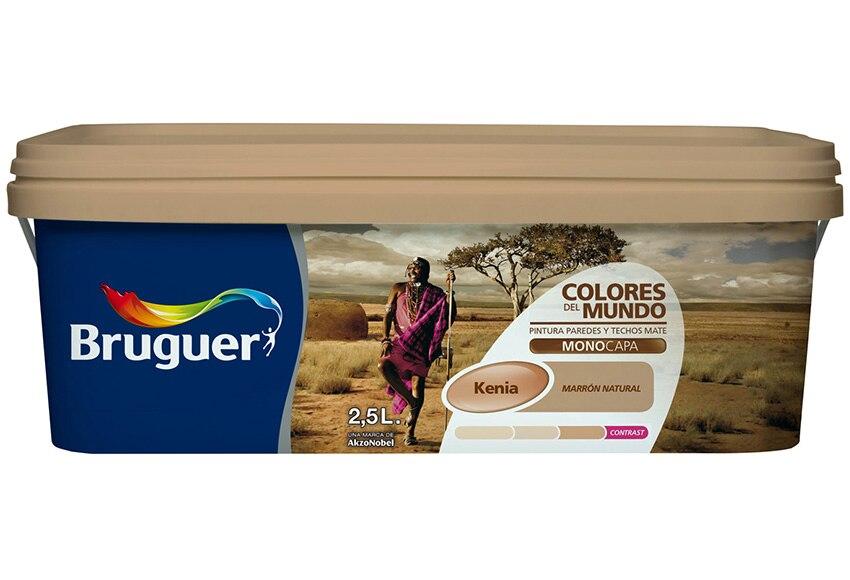Colores del mundo kenia marron natural bruguer colores del - Bruguer colores del mundo leroy merlin ...