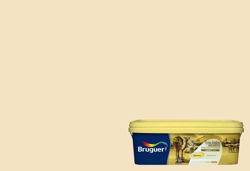 Colores del mundo sahara amarillo suave bruguer colores - Bruguer colores del mundo leroy merlin ...