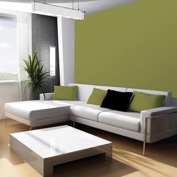 Colores verdes para paredes trendy decoracin en color - Paredes en verde ...