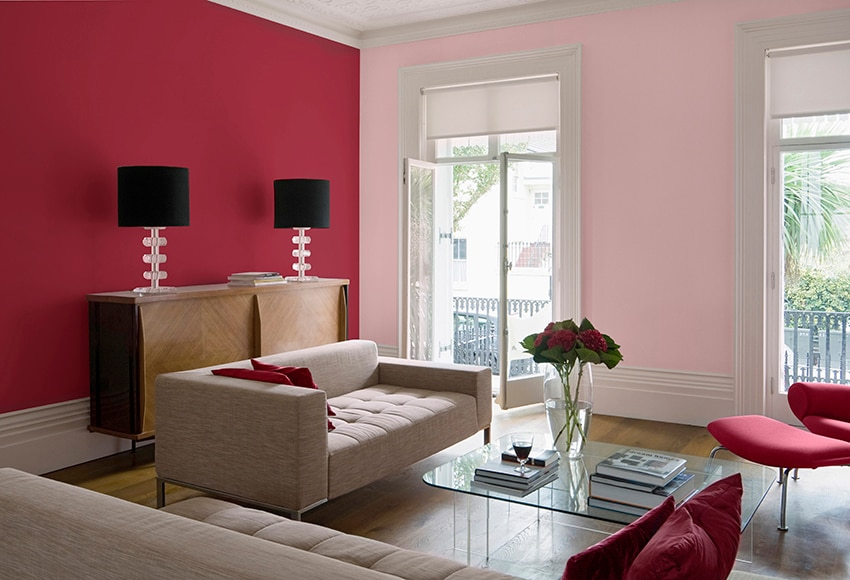Pintura de color para paredes y techos ripolin harmony helado de frambuesa ref 13772570 leroy - Pinturas paredes colores ...