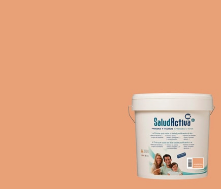 Pintura de color para paredes y techos ok salud activa almendra ref 18389812 leroy merlin - Color gris acero ...