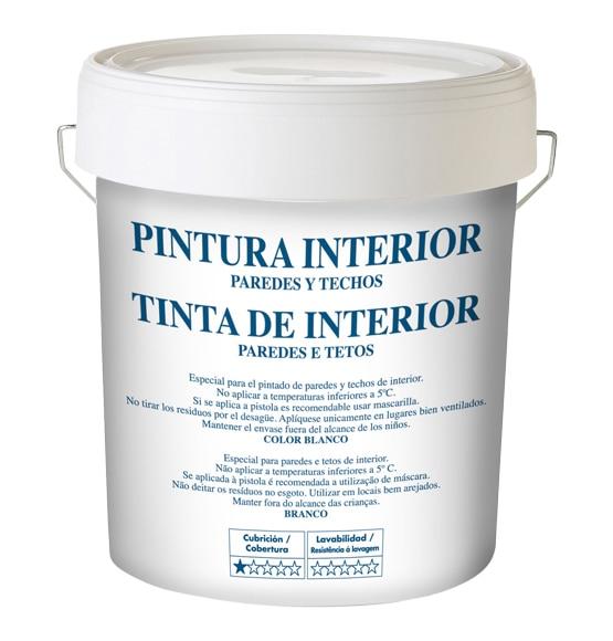 Pintura blanca para interior blanco mate ref 15554441 - Leroy merlin pintura interior ...