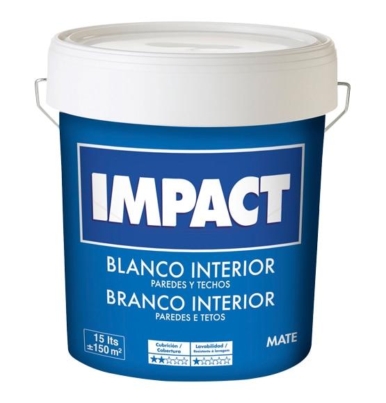 pintura blanca para interior blanco mate impact ref