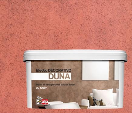 Pintura decorativa con efectos alp duna rojizo ref - Pinturas decorativas leroy merlin ...