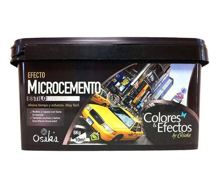 Efecto microcemento osaka microcemento crema ref 15098104 - Microcemento leroy merlin ...