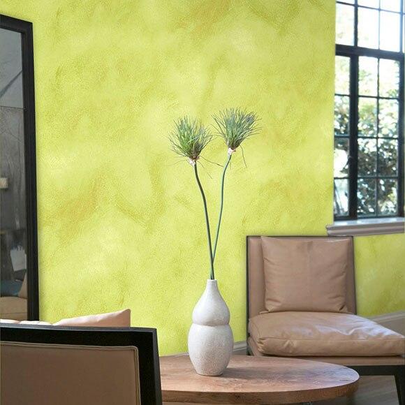 Pintura decorativa con efectos alp veladura pistacho ref - Pinturas decorativas leroy merlin ...