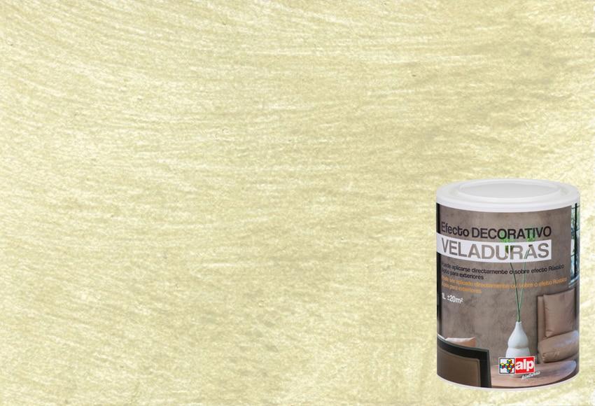 Pintura decorativa con efectos alp veladura verde oliva - Pintura decorativa efecto arena ...