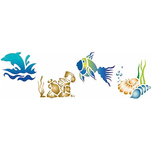 Plantilla decorativa les decoratives n 77 vista submarina - Les decoratives leroy merlin ...