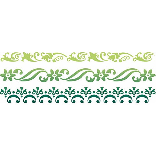 Plantilla decorativa les decoratives n 85 flores ref for Les decoratives leroy merlin