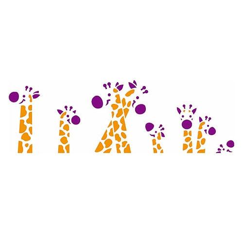 Cenefa de jirafas imagui - Cenefas decorativas infantiles ...