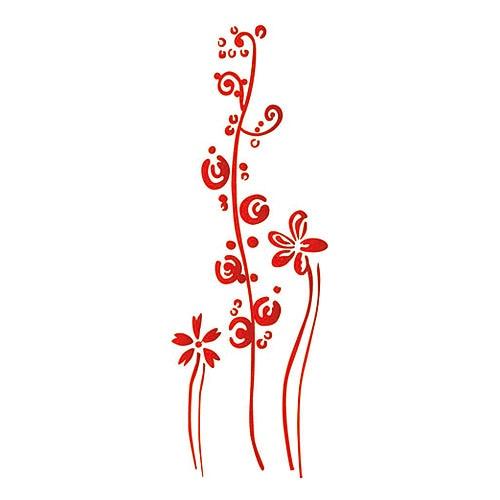 Plantilla decorativa les decoratives n 204 friso flores - Plantillas decorativas para pintar paredes ...