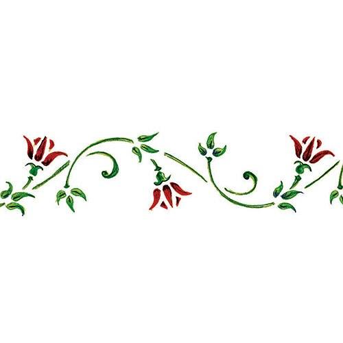 Plantilla decorativa brico n 479 flores ref 14431011 for Plantas decorativas en leroy merlin