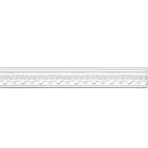 moldura de techo poliestireno e21 64x28mm 1x2m ref