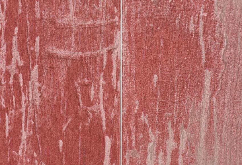 Revestimiento para pared de pvc cabane rojo ref 18575522 for Suelo vinilico autoadhesivo leroy merlin