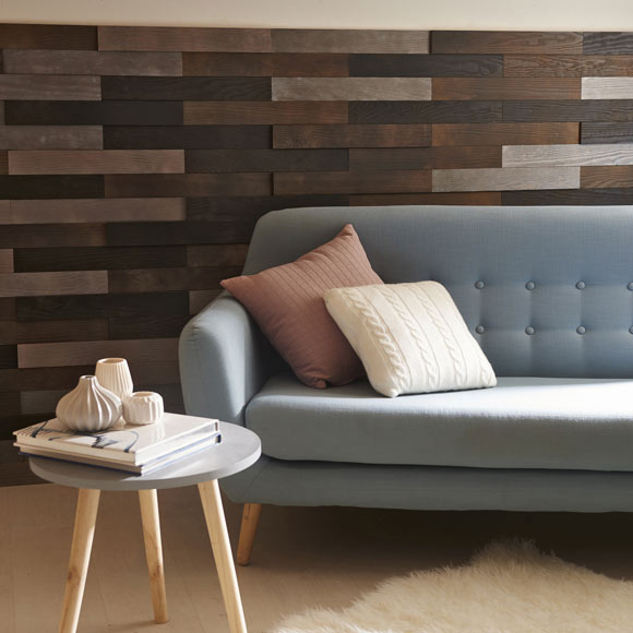 Revestimiento autoadhesivo de madera pino 3d negro ref - Revestimiento de madera ...