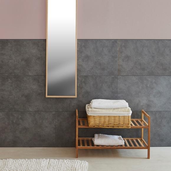 Revestimiento para pared de pvc compact mineral antracita for Revestimiento paredes pvc banos