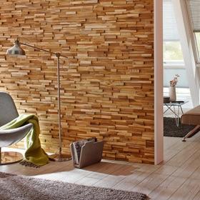 Revestimiento de pared leroy merlin - Revestimiento de madera para paredes interiores ...