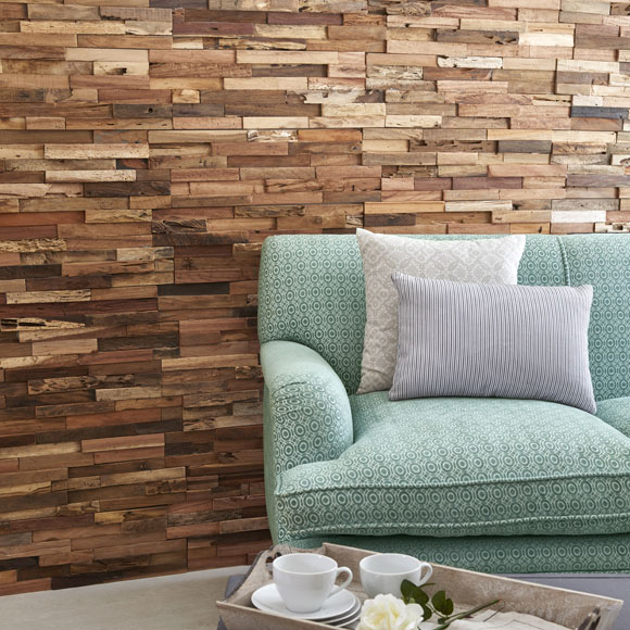 Revestimiento de pared ultrawood teak colorado ref - Revestimientos de pared ...
