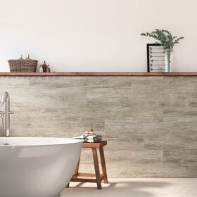 Revestimiento de pared  PVC BALI NATURAL 120X16,7CM