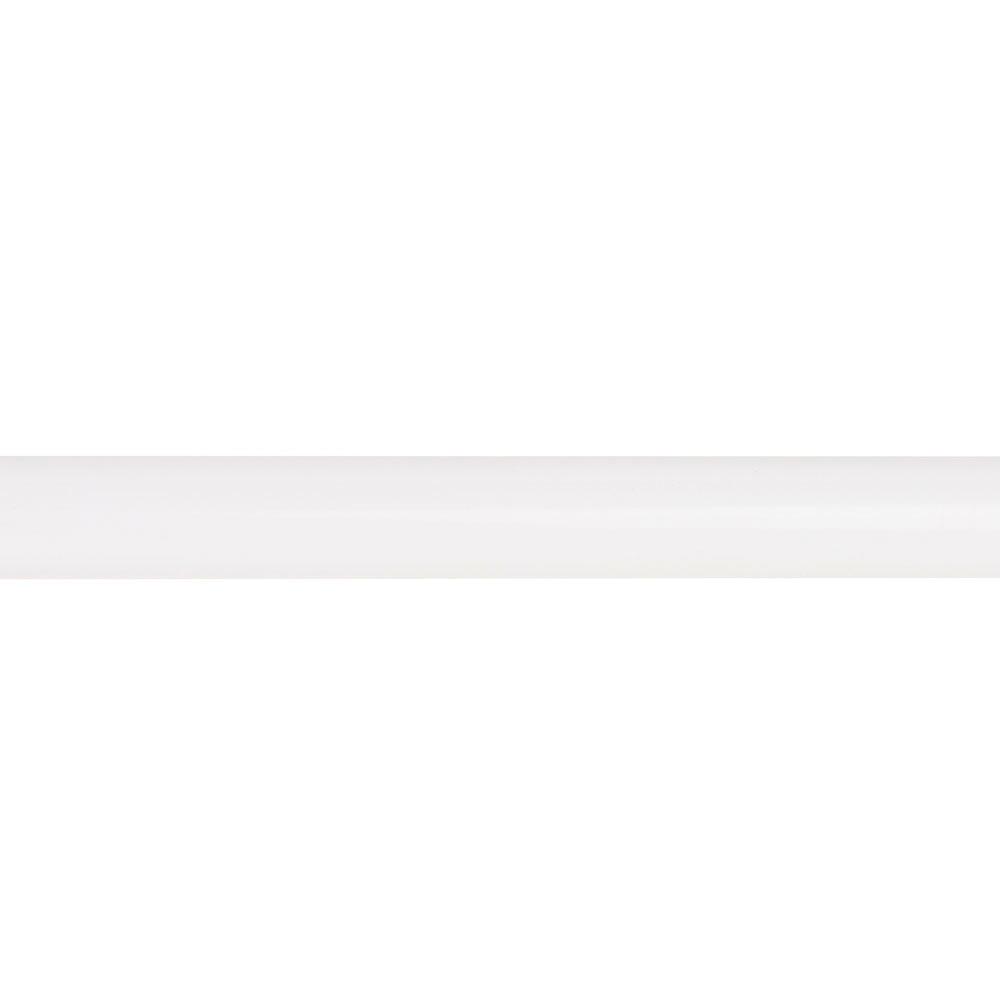 Barra de cortina inspire forja blanco brillo di metro 20 - Barras de cortinas de forja ...