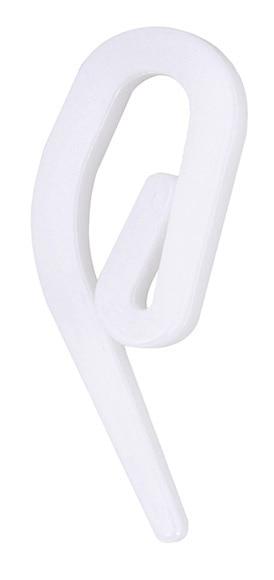 36 ganchos blancos accesorios rieles ref 13429871 leroy - Rieles leroy merlin ...